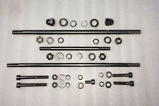 Kawasaki Gpz1100 Engine Mount Bolt Kit- Stainless Steel
