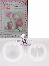 FMM SWEET PEA Cutters Set of 2  Sugarcraft Flower -  Cake Decorating Art & Craft