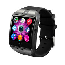 Q18 Smart Bluetooth Watch Sport Phone for Android Samsung SIM Card Black