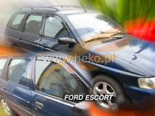 FORD ESCORT Estate 5-doors 1990-2001 4-pc wind deflectors HEKO Tinted