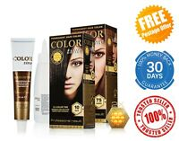 COLOR TIME Hair Dye Permanent Gel Hair Colourant Professional with Royal Jelly