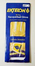 Ektelon All Pro Racquetball Glove, Cabretta Sheepskin, Women's Right M Free Ship