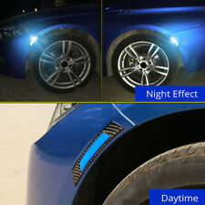 2Pcs Car Door Edge Guard Reflective Sticker Tape Decal Safety Warning Durable
