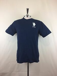 U.S Polo ASSN Mens 1890 Short-Sleeve T-shirt Dark Blue Size 18 M