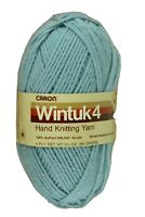 VTG Caron Wintuk Hand Knitting Yarn Dupont Acrylic FEDERAL BLUE 3.5 oz. 4-ply J