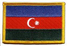 Aserbaidschan Aufnäher Flaggen Fahnen Patch Aufbügler 8x6cm