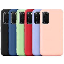 COVER per Samsung Galaxy S20 FE CUSTODIA Silicone Tpu Slim + VETRO TEMPERATO 9H