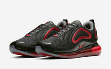 NEW Nike Air Max 720 Mesh Black Red Shoes