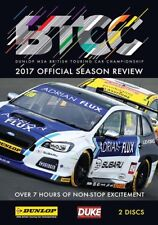 BTCC British Touring Car Championship - Official Review 2017 (2 DVD set) New