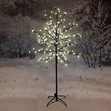 NEW 150CM LED BLOSSOM TREE WARM WHITE CHRISTMAS INDOOR DECORATION OUTDOOR HOME