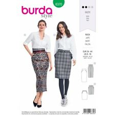 Burda Style Misses' Midi Length Pencil Skirt Sewing Pattern 6370