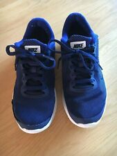 Nike Junior Boys Kids Trainers UK 3 EUR 35.5 blue