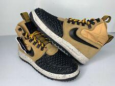 NEW Size 10 Nike LF1 Duckboot '17 Metallic Gold Black Shoes 916682-701 Mens