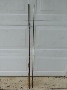 "FENWICK 2 PIECE FS 83 8' 3"" 6oz VINTAGE FISHING POLE 1/4-5/8 Lure 6-15 lb. Line"