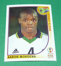N°158 MOKOENA SOUTH AFRICA PANINI FOOTBALL JAPAN KOREA 2002 COUPE MONDE FIFA