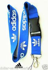 ADIDAS Vintage Lanyard ID Holder Keychain cell phone Fitness - Runners - Sport