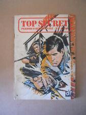 TOP SECRET n°8 1975 fumetto edizione DARDO [P26]