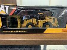 Cat 988K With Millyard Arrangement 1:50 Scale Wheel Loader Diecast Caterpillar