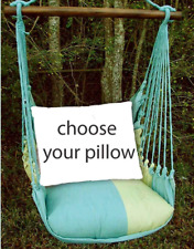 MAGNOLIA CASUAL HAMMOCK SWING SET - MEADOW MIST Choose Your Pillow