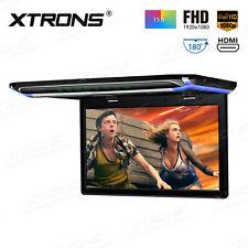 "HDMI 15.6"" Overhead Car Monitor Ceiling Roof Mount Flip Down FHD1920*1080 Screen"