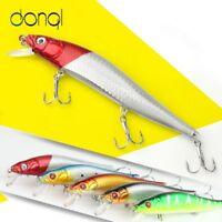 Fishing Hard Minnow Bait 1 Pc Lure Lures Bass 14cm Crankbait Crank 3D Eyes Baits