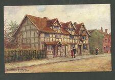 Unused Pre 1915 Postcard Shakespeares Birthplace Stratford on Avon 2959