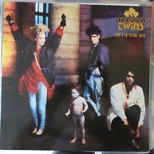 THOMPSON TWINS LP HERE'S TO FUTURE DAYS 1985 EUROPE VG++/VG++ MAXI BONUS INSERT