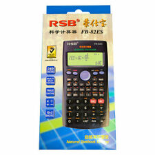 2x Scientific Calculator 82ES with Big display & cover. Student school office