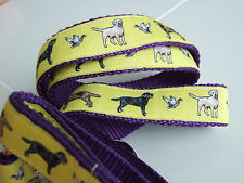 LABRADOR RETRIEVER BREED SPECIFIC DESIGN DOG COLLAR or MARTINGALE or LEAD BELT