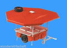Roco H0 4011 KÄRCHER FELDKÜCHE Feuerwehr Anhänger Bausatz HO 1:87 Herpa 743044