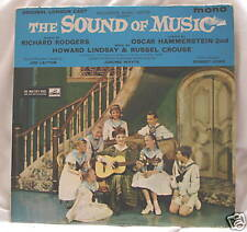 THE SOUND OF MUSIC (WEST END CAST MUSICALS MUSICAL VINYL LP ALBUM)