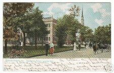 Oglethorpe Avenue Savannah Georgia Tuck 1908 postcard