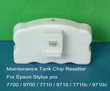 Maintenance Tank chip reset resetter decoder For EPSON Pro 7710 9710 7700 9700