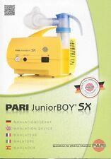 Pari Junior Boy SX Inhalationsgerät - PZN 8884300 - neu & OVP v med. Fachhändler