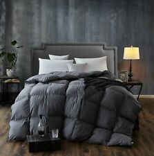 Luxury Goose Duck Down Comforter Quilt Blanket New Fabric Duvet Cover Twin Size