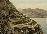 Ponale Road, Lake Garda, Italy, 1890's, Italian Photography Poster