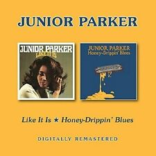 Junior Parker - Like It Is/Honey-Drippin' Blues (2017)  CD  NEW  SPEEDYPOST