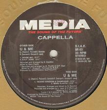 CAPPELLA - U & Me (Remixes) - Media