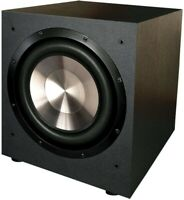 BIC America F12 12-Inch 475-Watt Front Firing Powered Subwoofer Home Theater