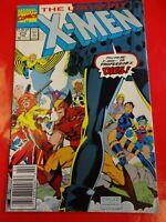 X men uncanny #273 cover comics Marvel Comic book 90s :- crime wave comics