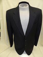 BRIONI MEN'S NAVY RED PINSTRIPED SUIT JACKET MADE IN ITALY