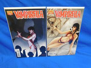 Dynamite Comics Vampirella #22 Paul Renaud  & Fabiano Neves Cover Variant A & B
