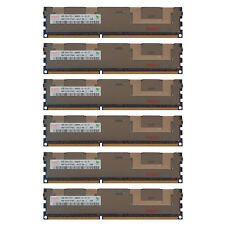 24GB Kit 6x 4GB HP Proliant BL460C BL420C BL660c DL160 DL360E G8 Memory Ram