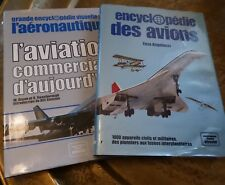 ENCYCLOPEDIE ELSEVIER DES AVIONS ENZO ANGELUCCI  + AVIATION COMMERCIALE 1978