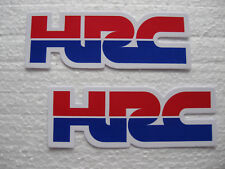 2x Sticker Aufkleber Honda HRC Racing Motorradsport Tuning Biker Motorcross Race