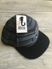 DC Hat NEW With Tags Blue Black Gray ADYHA03382 One Size Adjustable Back