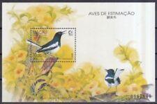 Echte postfrische Briefmarken aus Asien mit Vögel-Motiv