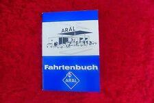 Original Fahrtenbuch ARAL mit Fahrzeughalterinformationen