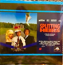 "SPLITTING HEIRS 12"" LASERDISC MOVIE RICK MORANIS JHON CLEESE LETTERBOX SEALED"