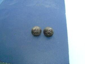 Officers cap buttons: Royal Artillery,KC, bronzed, 14 mm